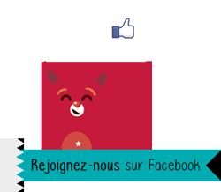 Liker la page Justacoté sur Facebook