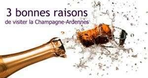 3 bonnes raisons de visiter la Champagne-Ardennes