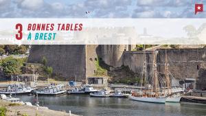 3 bonnes tables à Brest