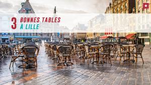 3 bonnes tables à Lille