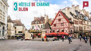 3 hôtels de charme à Dijon