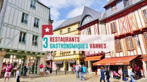 3 restos gastronomiques à Vannes