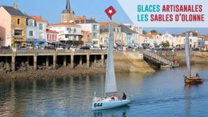 3 top glaciers aux Sables d'Olonne
