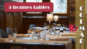 5 Bonnes Tables à Colmar