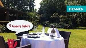 5 bonnes tables à Rennes