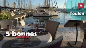 5 bonnes tables à Toulon