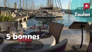5 bonnes tables à Toulon