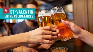 5 idées pour fêter la Saint-Valentin entre célibataires
