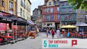 5 top crêperies à Rennes
