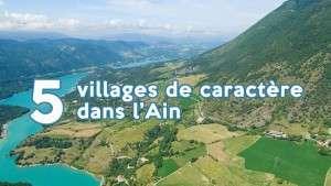 5 villages de caractère dans l'Ain
