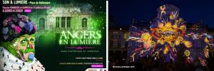 Sons et lumières à Angers
