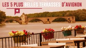 Cinq bonnes tables en terrasse à Avignon