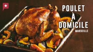 Commandez vous un bon poulet rôti, pour changer !