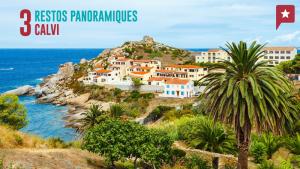 Corse : 3 tables panoramiques à Calvi