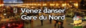 Faites la fête toute la nuit dans la gare du Nord à Paris