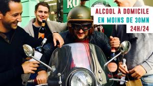 Faites vous livrer de l'alcool à domicile jour et nuit avec Kol