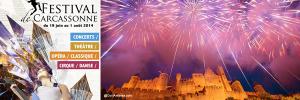 Carcassonne, festivalement votre !