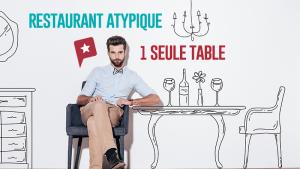 Insolite à Paris : la table unique de la Tête dans les Olives
