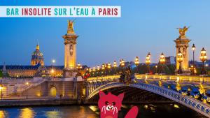 Insolite à Paris : un bar à huîtres iodé qui vogue sur la Seine