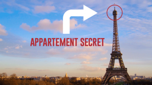 L'appartement secret de la tour Eiffel