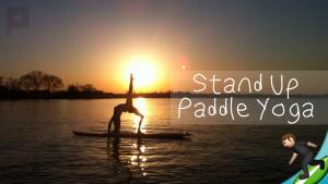 La tendance du SUP Yoga !