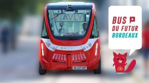 Le bus du futur est à Bordeaux