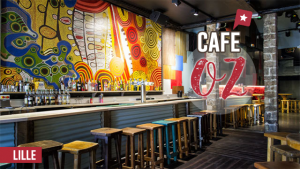 Le café Oz à Lille, dépaysement assuré !