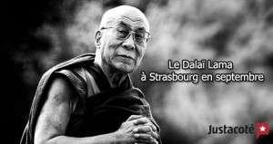 Le Dalaï Lama à Strasbourg en septembre
