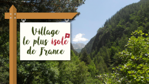 Le village le plus isolé de France