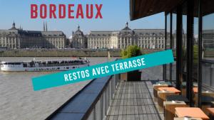 Les 5 plus beaux restaurants avec terrasse à Bordeaux