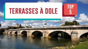 Les cinq plus belles terrasses de Dole