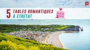 Noël : 5 tables romantiques autour d'Etretat