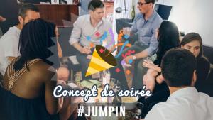 Nouveau concept de soirées à Paris, JumpIn !