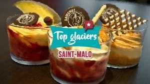 Où manger une bonne glace à à Saint Malo