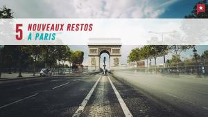 Paris : 5 nouveaux restos pour la rentrée