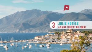 Pointe Corse : 3 Hôtels à Saint-florent