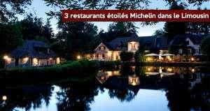 Région Limousin : 3 restaurants étoilés