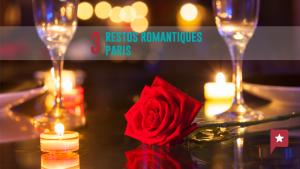 Saint-Valentin :  3 restos romantiques à Paris
