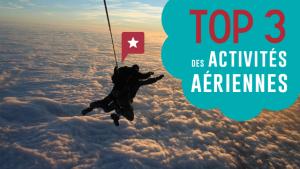 Top 3 des activités aériennes