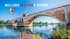 Top 3 des glaciers à Avignon