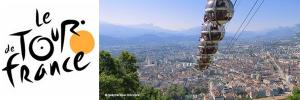 Tour de France : 19 juillet, 177km de Grenoble à Risoul. Découverte de Grenoble