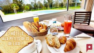 Trois hôtels français aux petits-déjeuners de luxe !