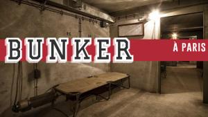 Un bunker dans les profondeurs de Paris