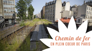 Un chemin de fer en plein coeur de Paris