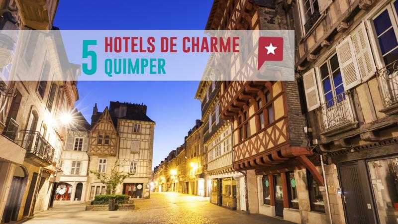 5 Hôtels De Charme Autour De Quimper