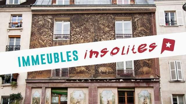 5 Immeubles Insolites à Paris