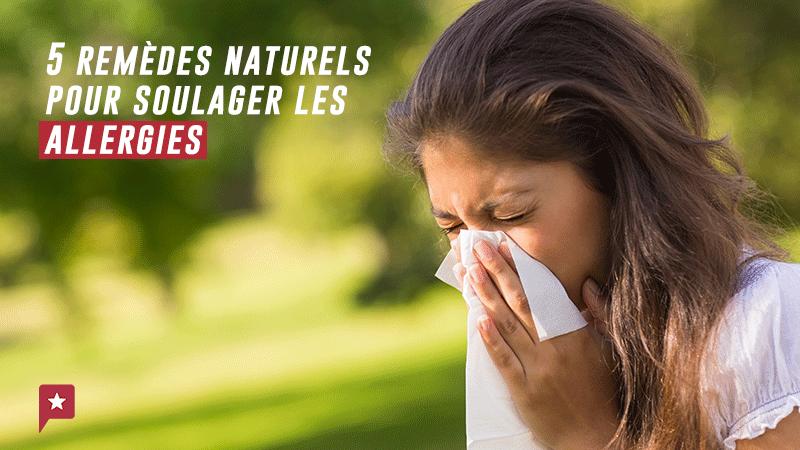 5 Plantes Pour Soulager L'allergie Printanière