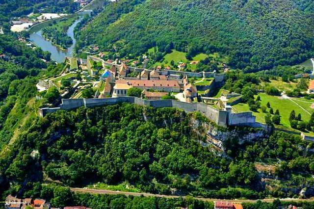 Citadelle de Besançon 640 ex. colors