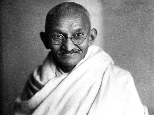 fête des pères : Gandhi