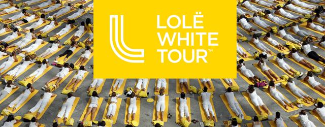 Le Lolë White Tour, Yoga Version Grandiose à Paris